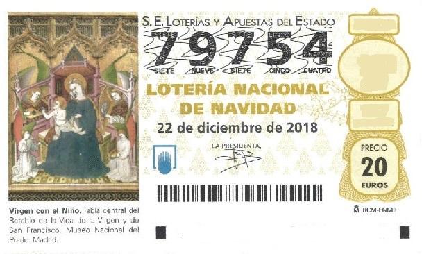 LOTERIA NAVIDAD POMER 2018