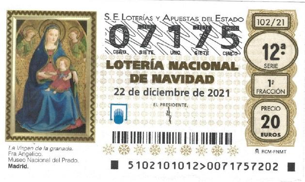 LOTERÍA DE NAVIDAD POMER 2021